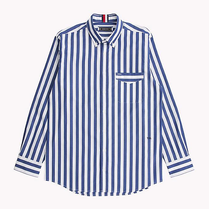 tommy hilfiger hemd mit th logo rücken