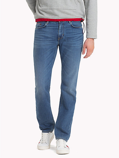 TOMMY HILFIGER Regular Fit Jeans - CALMAR BLUE - TOMMY HILFIGER Regular-Fit Jeans - main image