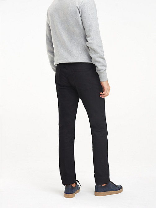 TOMMY HILFIGER Straight Fit Jeans - SELVEDGE BLACK - TOMMY HILFIGER Straight Fit Jeans - main image 1