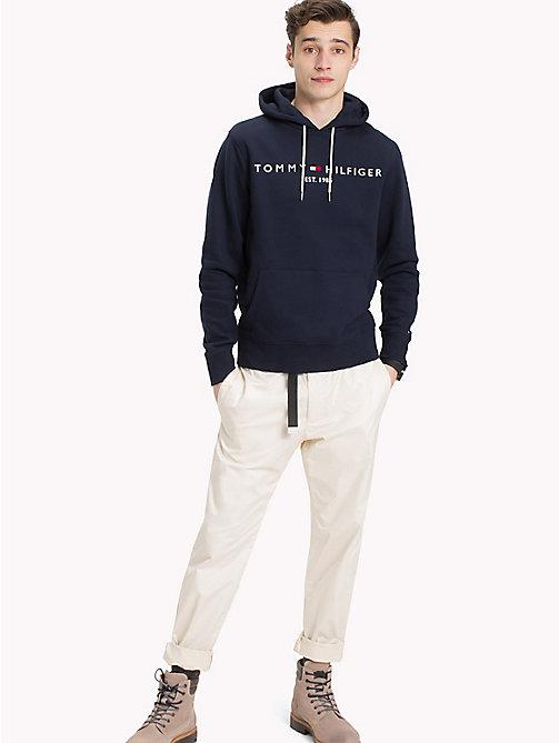 Hoodie avec rayures - NavyTommy Hilfiger Obtenir La Dernière Mode Moins De 70 Dollars Rabais Exclusif 2mNsRrN