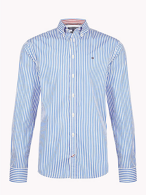 TOMMY HILFIGER Camicia a righe all over - STRONG BLUE / BRIGHT WHITE - TOMMY HILFIGER Cosa indossare - immagine principale