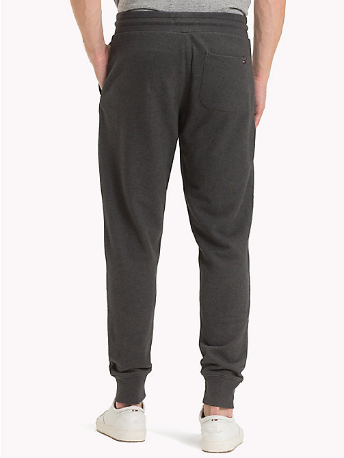 TOMMY HILFIGER Basic Sweatpants - CHARCOAL HTR - TOMMY HILFIGER Trousers & Shorts - detail image 1