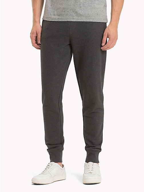 TOMMY HILFIGER Basic Sweatpants - CHARCOAL HTR - TOMMY HILFIGER Trousers & Shorts - main image