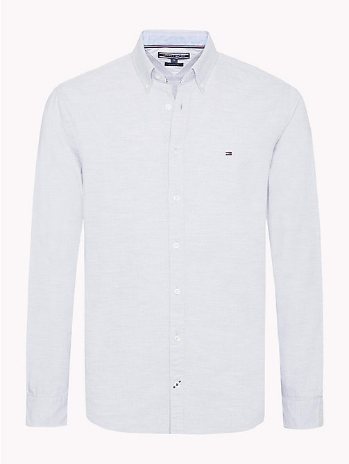 TOMMY HILFIGER Camicia in cotone Oxford - CLOUD HTR -  Camicie Casual - immagine principale