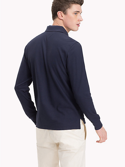 TOMMY HILFIGER Regular Fit Polo Shirt - NAVY BLAZER - TOMMY HILFIGER TOMMY'S PADDOCK - detail image 1