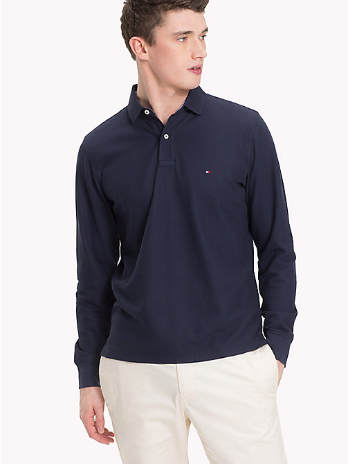 TOMMY HILFIGER Regular Fit Polo Shirt - NAVY BLAZER - TOMMY HILFIGER TOMMY'S PADDOCK - main image