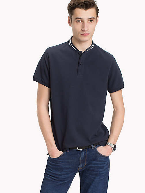 TOMMY HILFIGER Polo con colletto stile baseball - SKY CAPTAIN - TOMMY HILFIGER Polo - immagine principale