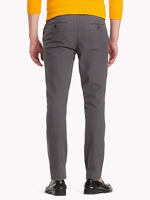 TOMMY HILFIGER Honeycomb Slim Fit Chinos - GRAY PINSTRIPE - TOMMY HILFIGER Clothing - detail image 1