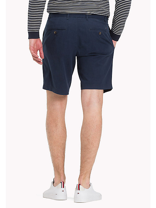 TOMMY HILFIGER Denim Chambray Shorts - SKY CAPTAIN - TOMMY HILFIGER Vacation Style - detail image 1
