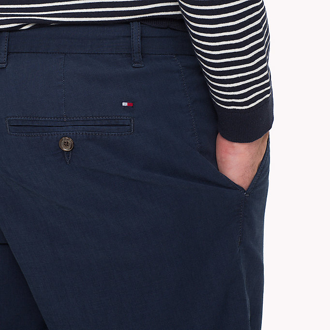 TOMMY HILFIGER Denim Chambray Shorts - COOL BLUE - TOMMY HILFIGER Men - detail image 3