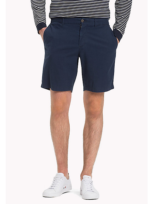 TOMMY HILFIGER Denim Chambray Shorts - SKY CAPTAIN - TOMMY HILFIGER Vacation Style - main image