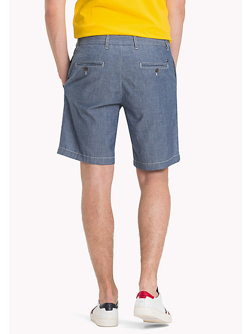 TOMMY HILFIGER Denim Chambray Shorts - COOL BLUE - TOMMY HILFIGER Vacation Style - detail image 1