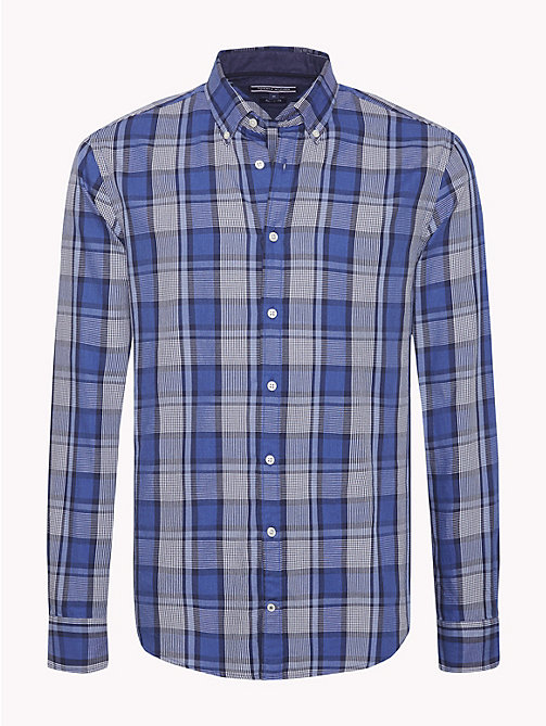 TOMMY HILFIGER All-Over Check Shirt - BLUE DEPTHS HTR / COLONY BLUE - TOMMY HILFIGER Casual Shirts - main image
