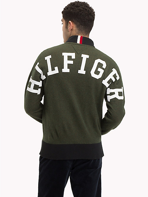 TOMMY HILFIGER Logo Back Baseball Top - ROSIN HEATHER - TOMMY HILFIGER Clothing - detail image 1