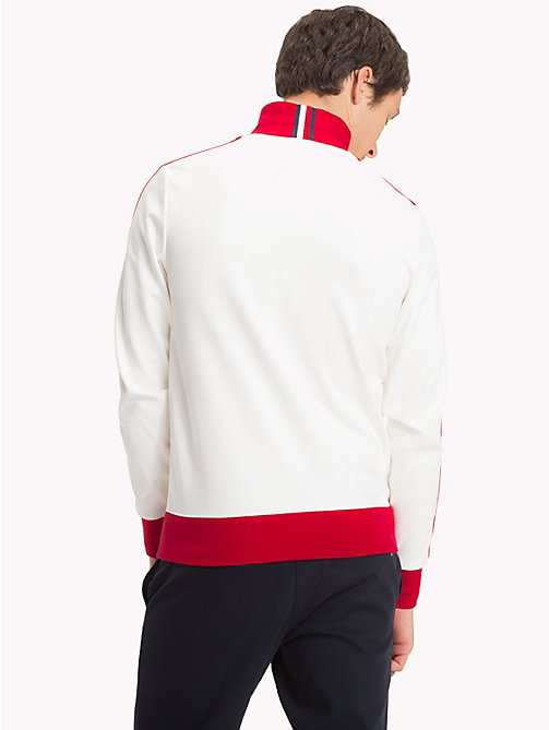 TOMMY HILFIGER Trainingsjacke mit Retro-Streifen - HAUTE RED - TOMMY HILFIGER NEW IN - main image 1