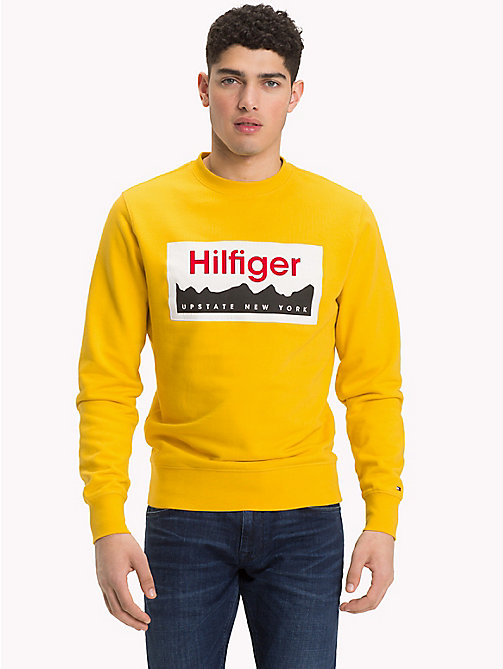 TOMMY HILFIGER Sweat à logo Upstate NY - CEYLON YELLOW - TOMMY HILFIGER Vetements - image principale