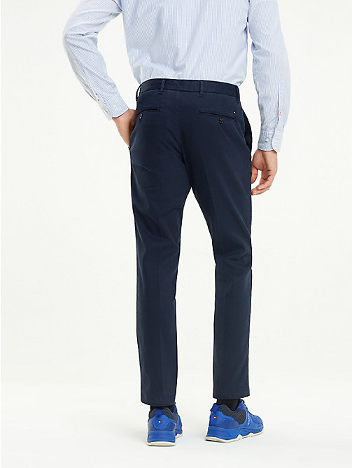 TOMMY HILFIGER Chino Denton coupe droite - SKY CAPTAIN - TOMMY HILFIGER Vetements - image détaillée 1