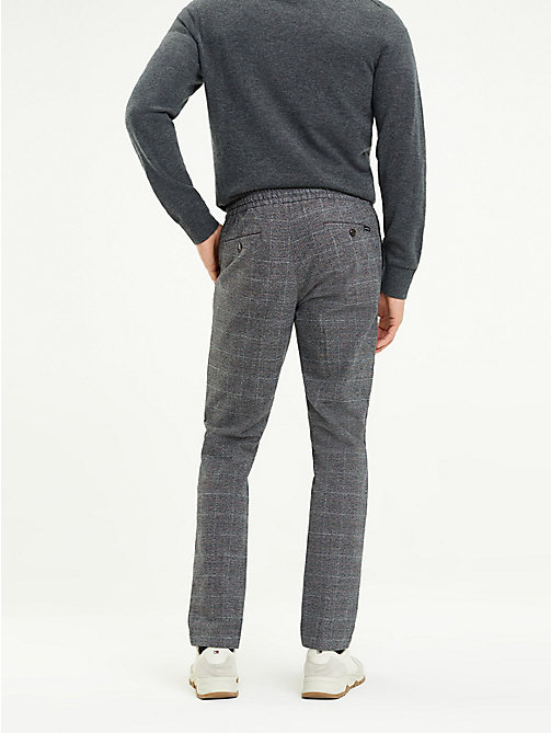 TOMMY HILFIGER Check Stretch Joggers - EIFFEL TOWER - TOMMY HILFIGER Rebajas Men - detail image 1