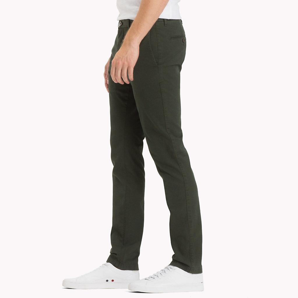 Tommy Hilfiger - Pantalón chino de corte slim - 3