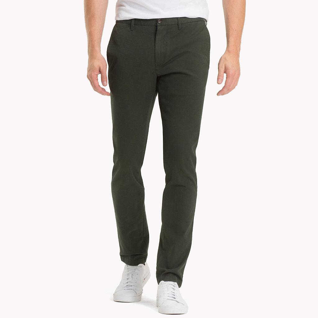 Tommy Hilfiger - Pantalón chino de corte slim - 1