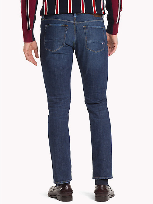 TOMMY HILFIGER Mercer regular fit stretchjeans - BELGRADE BLUE - TOMMY HILFIGER Kleding - detail image 1