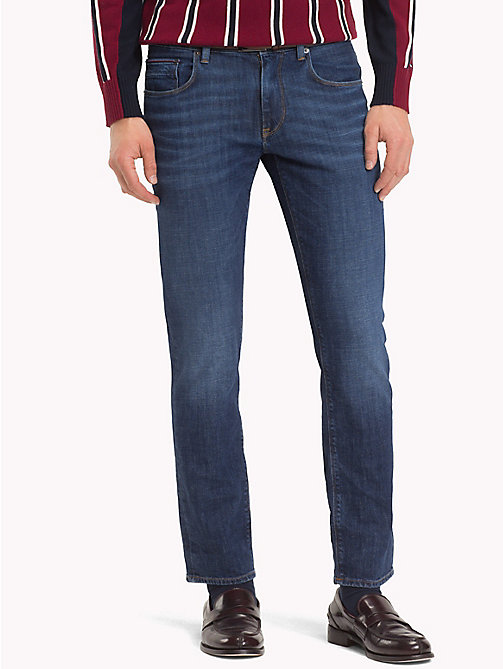 TOMMY HILFIGER Mercer Regular Fit Stretch Jeans - BELGRADE BLUE - TOMMY HILFIGER Clothing - main image