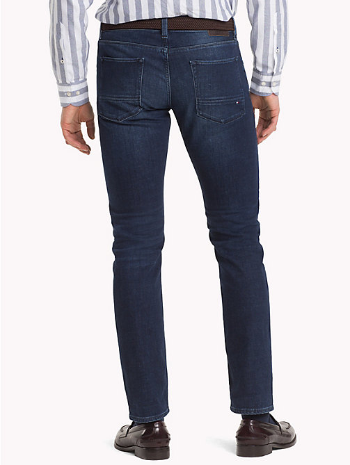 TOMMY HILFIGER Denton Faded Straight Fit Jeans - BRIDGER INDIGO - TOMMY HILFIGER Clothing - detail image 1
