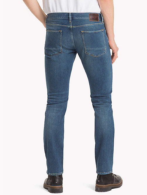 TOMMY HILFIGER Denton Faded Straight Fit Jeans - CASCADE INDIGO - TOMMY HILFIGER Straight-Fit Jeans - detail image 1