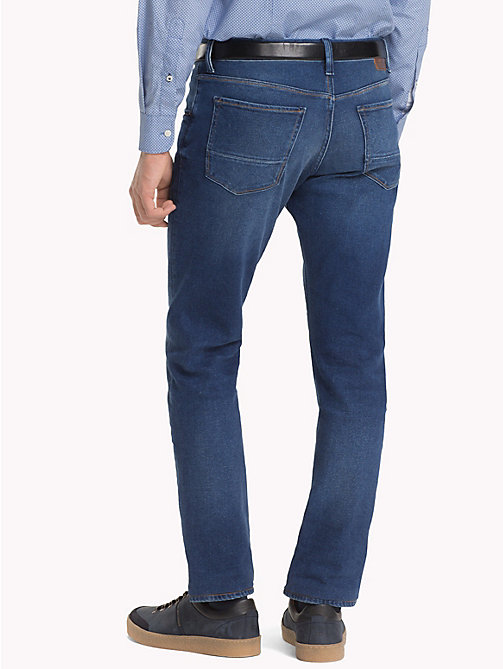 TOMMY HILFIGER Bleecker Slim Fit Stretch Jeans - CHINOOK BLUE - TOMMY HILFIGER Jeans - detail image 1