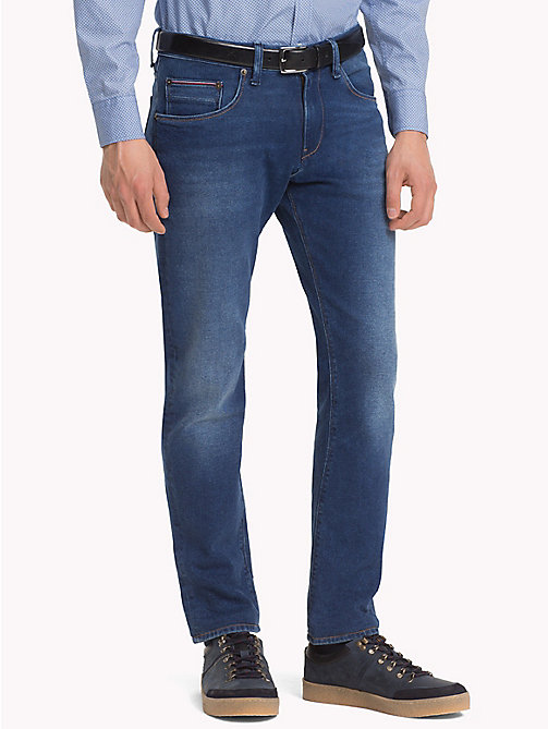 TOMMY HILFIGER Bleecker Slim Fit Stretch Jeans - CHINOOK BLUE - TOMMY HILFIGER Slim-Fit Jeans - main image
