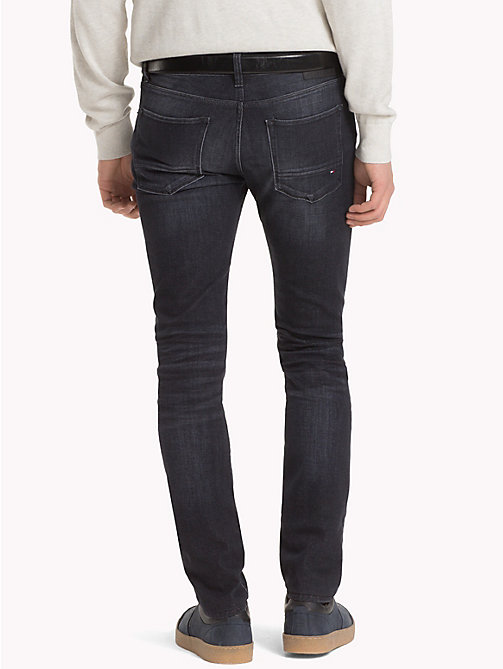 TOMMY HILFIGER Layton Extra Slim Fit Jeans - FLAX BLACK - TOMMY HILFIGER Skinny Jeans - detail image 1