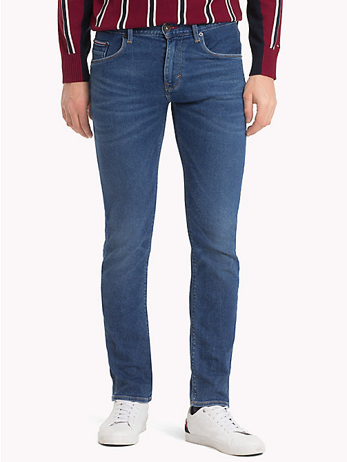 TOMMY HILFIGER Bleecker Slim Fit Jeans - SACO INDIGO - TOMMY HILFIGER Sustainable Evolution - main image
