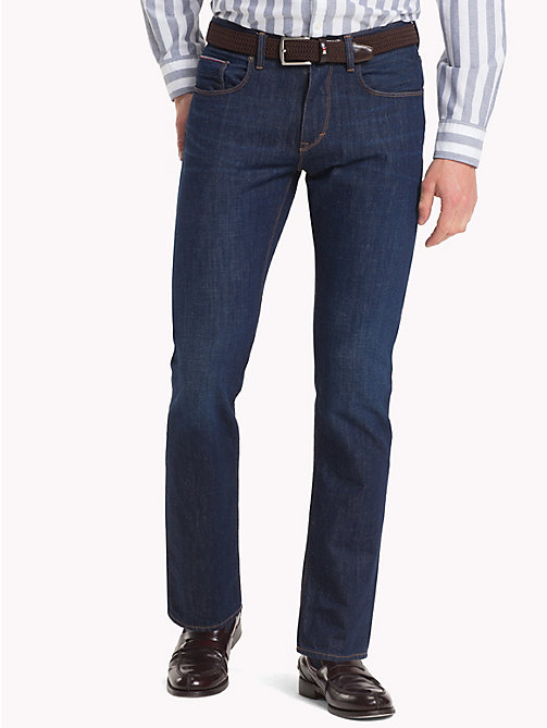 TOMMY HILFIGER Regular Fit Jeans aus Bio-Baumwolle - SHERIDAN BLUE - TOMMY HILFIGER Sustainable Evolution - main image