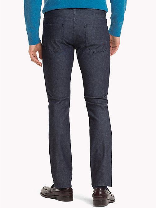 TOMMY HILFIGER Denton Straight Fit Jeans - HOBSON INDIGO - TOMMY HILFIGER Slim-Fit Jeans - detail image 1
