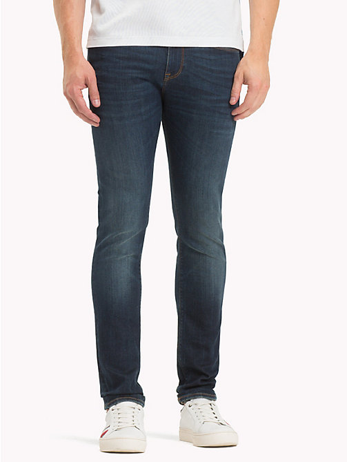 TOMMY HILFIGER Layton Skinny Fit Jeans - MISSOULA BLUE - TOMMY HILFIGER Clothing - main image
