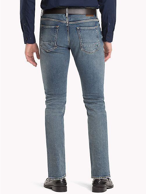 TOMMY HILFIGER Worn Denton Straight Jeans - DARBY WORN - TOMMY HILFIGER Straight-Fit Jeans - detail image 1