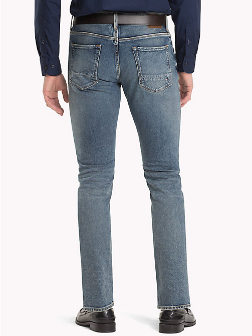 TOMMY HILFIGER Worn Denton Straight Jeans - DARBY WORN - TOMMY HILFIGER Clothing - detail image 1