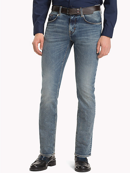 TOMMY HILFIGER Worn Denton Straight Jeans - DARBY WORN - TOMMY HILFIGER Clothing - main image