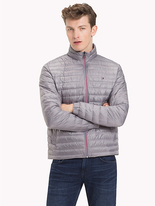 TOMMY HILFIGER Ultra Lightweight Down Jacket - QUICKSILVER - TOMMY HILFIGER NEW IN - main image