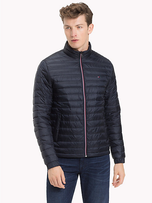 TOMMY HILFIGER Ultra Lightweight Down Jacket - SKY CAPTAIN - TOMMY HILFIGER NEW IN - main image