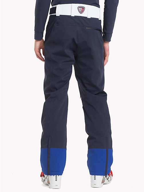 TOMMY HILFIGER Rossignol Colour-Blocked Ski Trousers - SKY CAPTAIN - TOMMY HILFIGER TOMMYXROSSIGNOL - detail image 1
