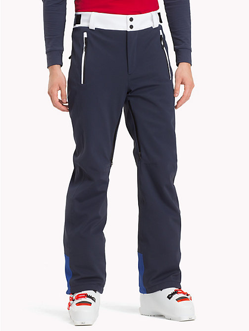 TOMMY HILFIGER Rossignol Colour-Blocked Ski Trousers - SKY CAPTAIN - TOMMY HILFIGER TOMMYXROSSIGNOL - main image