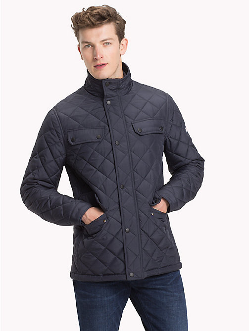 TOMMY HILFIGER Quilted Jacket - 413-SKY CAPTAIN - TOMMY HILFIGER Jackets - main image