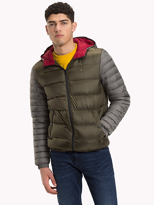 TOMMY HILFIGER Hooded Down Jacket - ROSIN - TOMMY HILFIGER Black Friday Men - main image