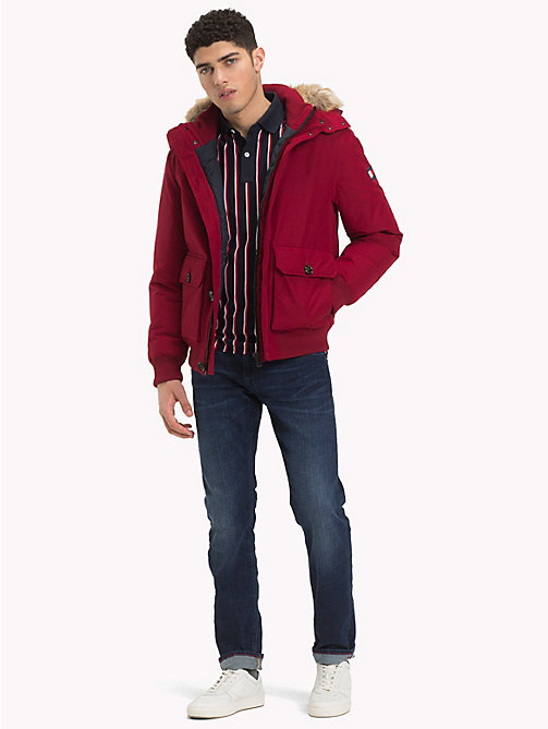 TOMMY HILFIGER Bomber imbottito - RHUBARB - TOMMY HILFIGER Giacche - dettaglio immagine 1
