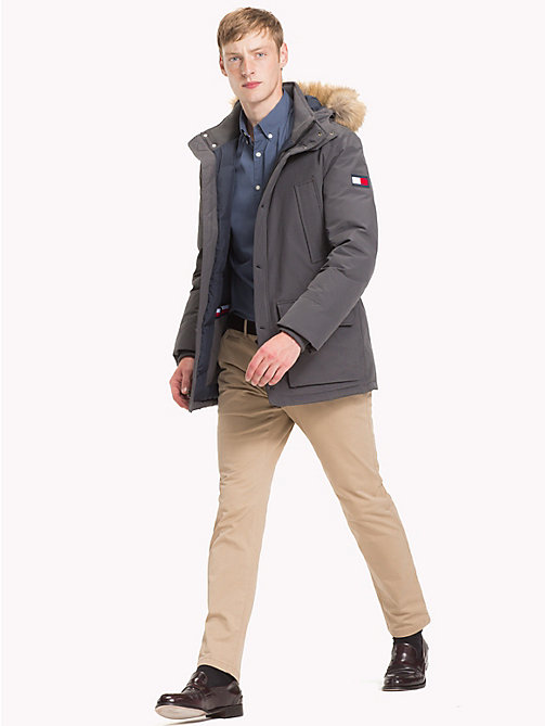 TOMMY HILFIGER Down Parka Jacket - MAGNET - TOMMY HILFIGER Clothing - detail image 1