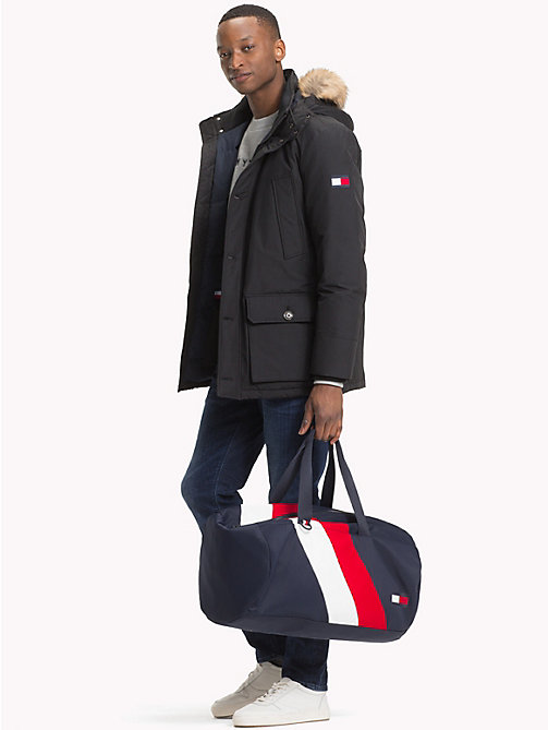 TOMMY HILFIGER Down Parka Jacket - JET BLACK - TOMMY HILFIGER Coats & Jackets - detail image 1