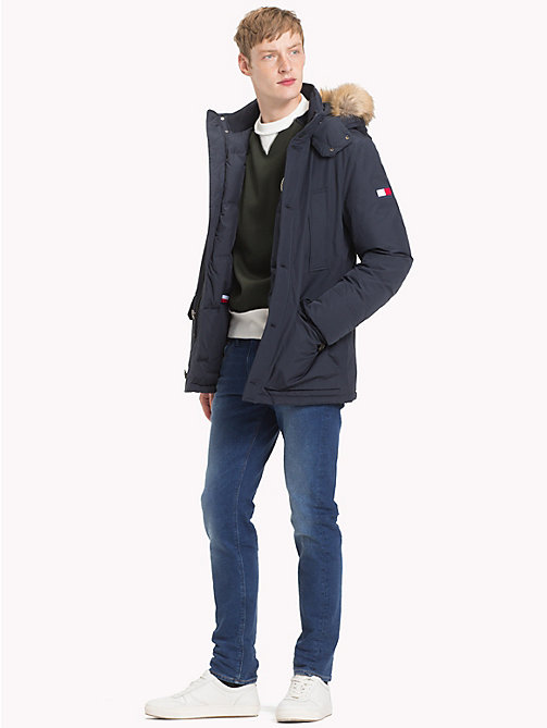 TOMMY HILFIGER Утепленная парка - 413-SKY CAPTAIN - TOMMY HILFIGER Парки - подробное изображение 1