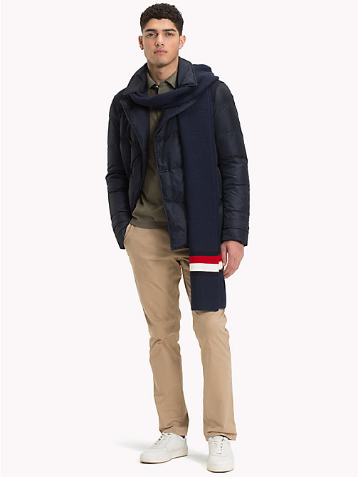 TOMMY HILFIGER Down Padded Pea Coat - 413-SKY CAPTAIN - TOMMY HILFIGER Coats & Jackets - detail image 1