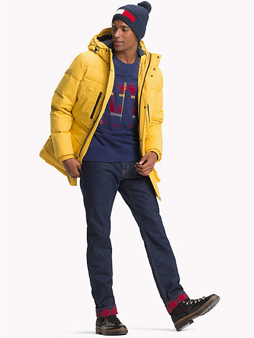 TOMMY HILFIGER Heavy Canvas Down Parka - CEYLON YELLOW - TOMMY HILFIGER Coats & Jackets - detail image 1